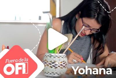 Fuera de la ofi 2<small>Yohana Elorza</small>
