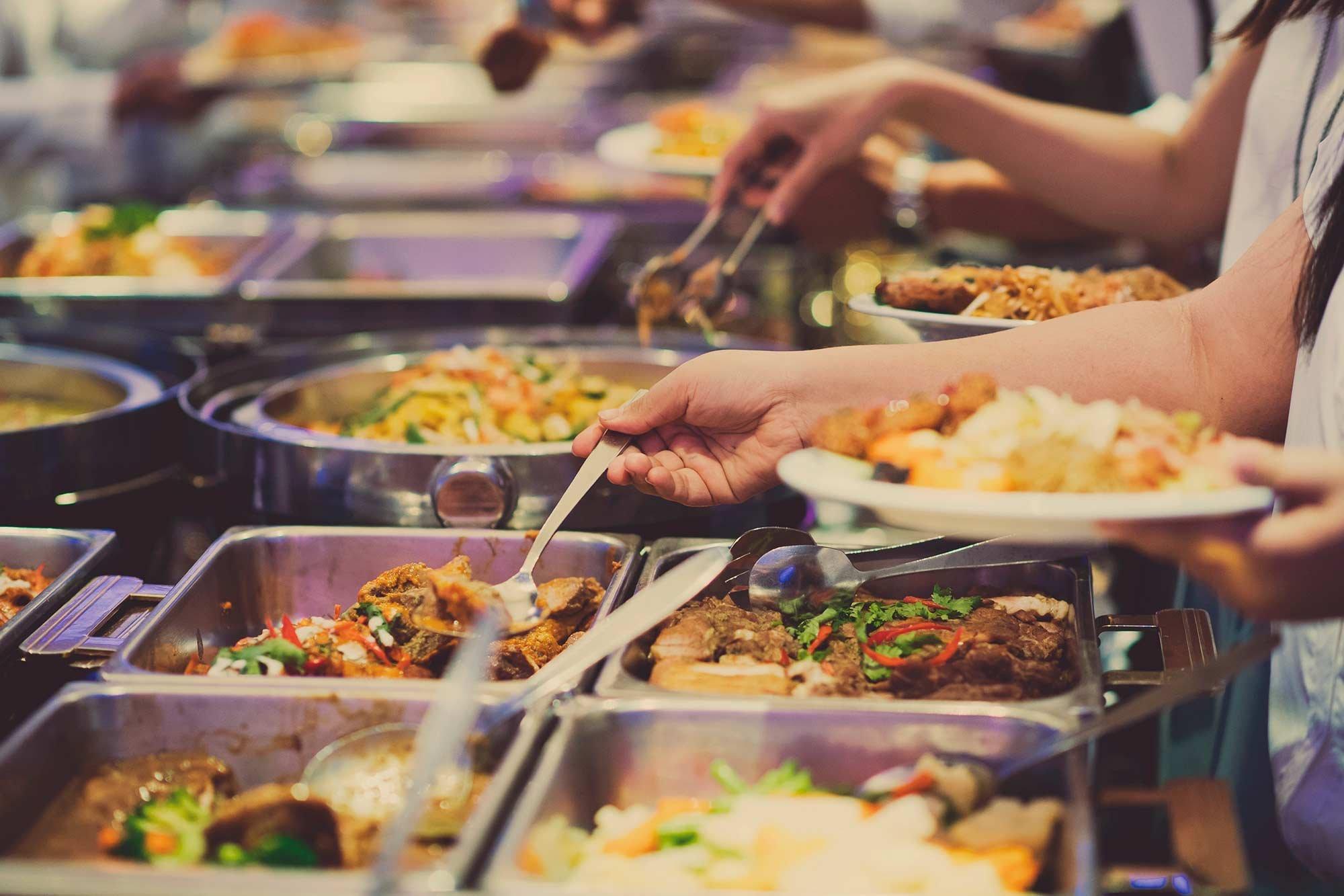 Restaurante buffet beneficios pragma