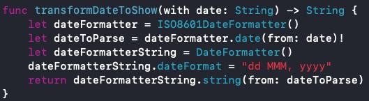 Testeando una función iOs