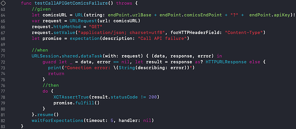 Testeando una función con consumo de API 2