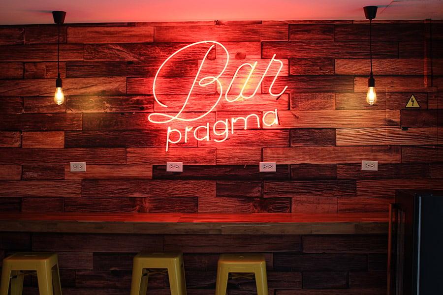 Bar Pragma<small>Un lugar para compartir</small>