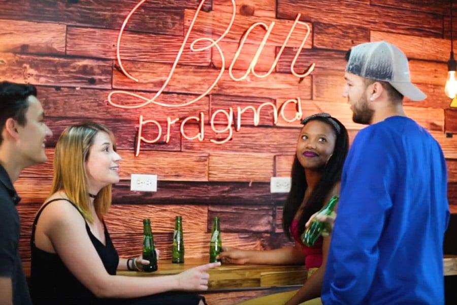Bar Pragma, un lugar para compartir