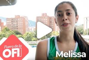 Melissa es una gran atleta