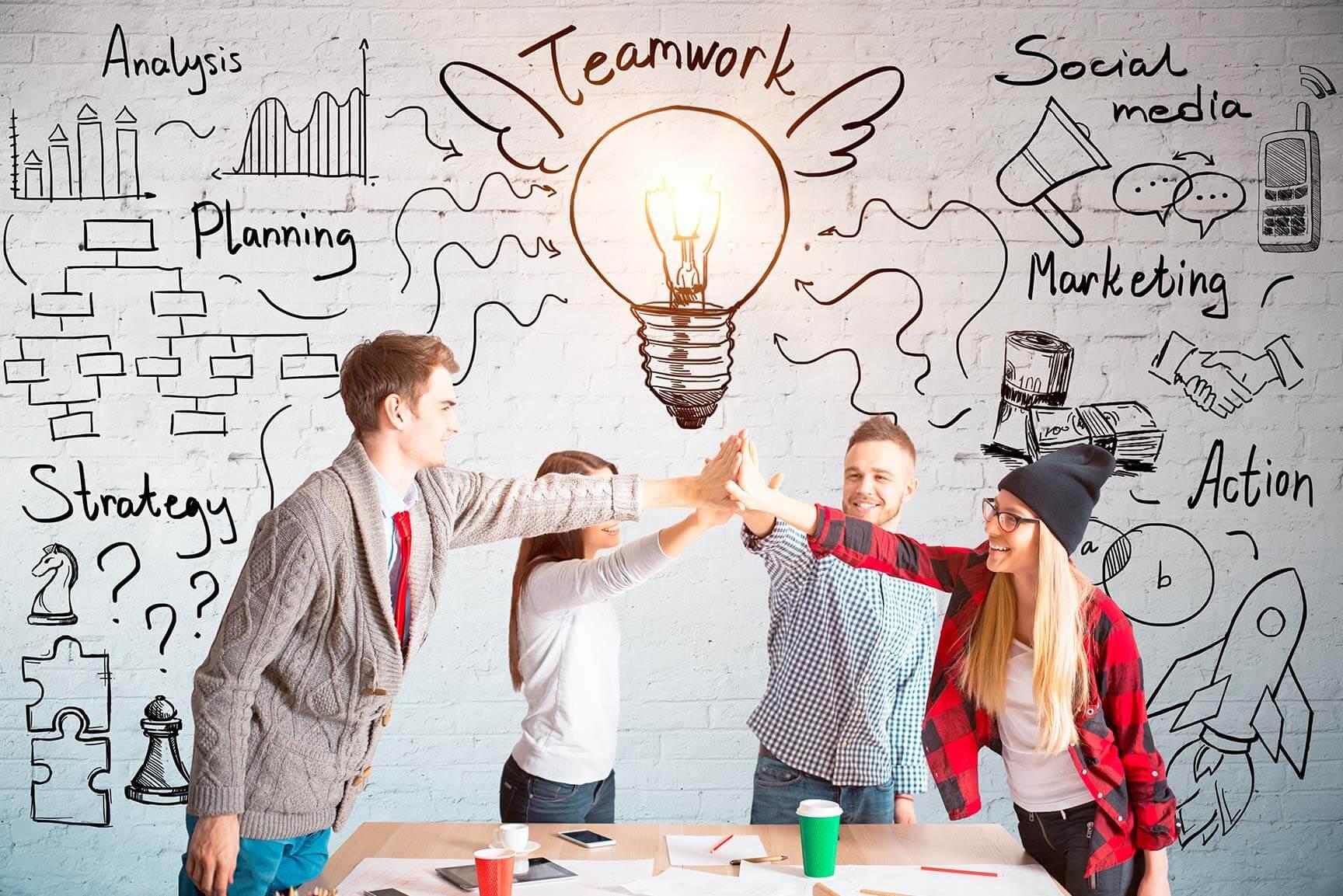 Transmedia trabajo en equipo