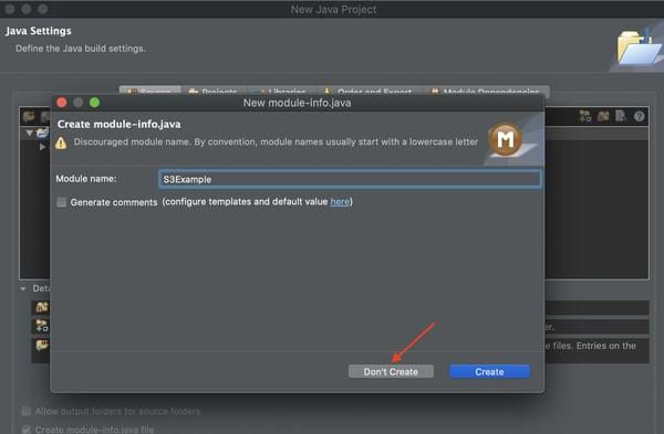 Configurar AWS SDK para Java 2