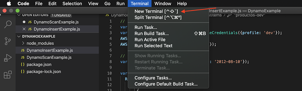 AWS SDK utilizando DynamoDB 5
