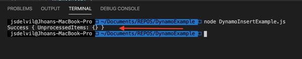 AWS SDK utilizando DynamoDB 8