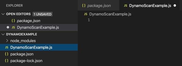 AWS SDK utilizando DynamoDB 3