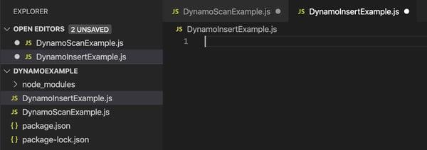 AWS SDK utilizando DynamoDB 4