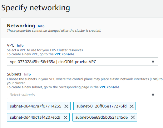Crear cluster EKS Consola administrativa de AWS 2