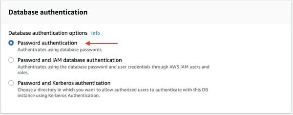 Instancia de base de datos de PostgreSQL Amazon RDS 12