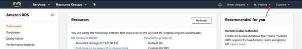 Instancia de base de datos de PostgreSQL Amazon RDS 2