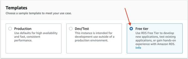 Instancia de base de datos de PostgreSQL Amazon RDS 6