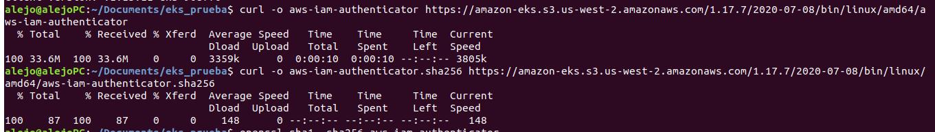 Procedimiento instalación aws-iam-authenticator en Linux 1