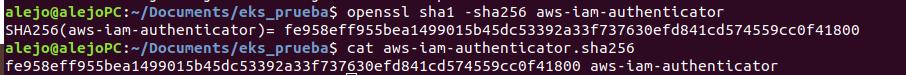 Procedimiento instalación aws-iam-authenticator en Linux 2