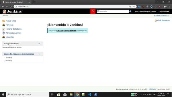 Cómo instalar Jenkins utilizando Docker 8
