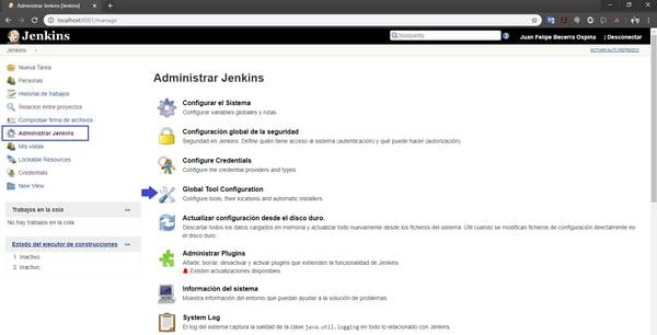 Construcción de una pipeline en Jenkins para un microservicio Java 1