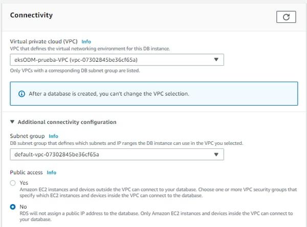 Instalación y configuración ODM 8.10.3 - AWS EKS 6