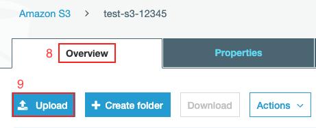 Publicar web S3 Amazon Web Service paso4