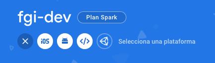 cómo se debe configurar una cuenta de Firebase para lograr tener comunicación entre pinpoint y el dispositivo final.