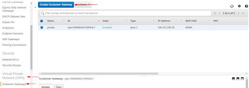Cómo configurar una VPN site-to-site en AWS 1