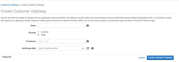 Cómo configurar una VPN site-to-site en AWS 2