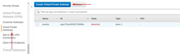 Cómo configurar una VPN site-to-site en AWS 3
