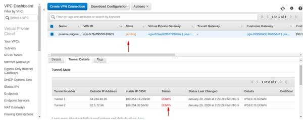 Cómo configurar una VPN site-to-site en AWS 7