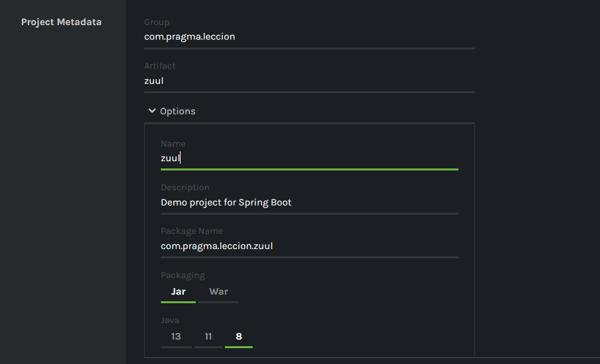 Cómo crear una API Gateway con Zuul2 1