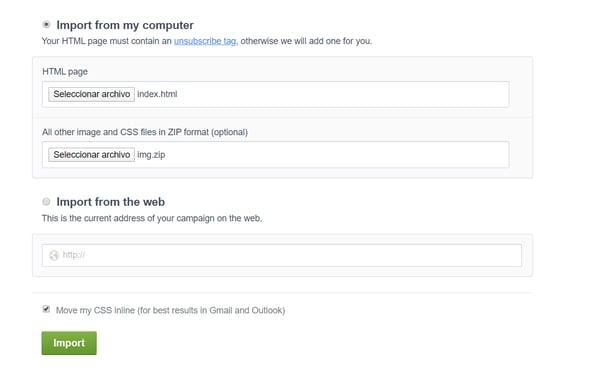 Cómo enviar un email html 4