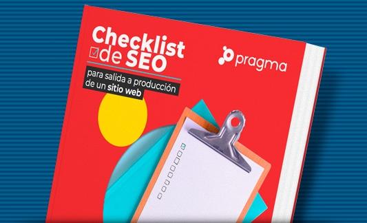 eBook: Checklist SEO para salida a producción de un sitio web