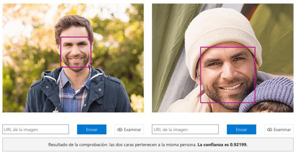 Azure ofrece Face API, una herramienta capaz de realizar detección facial individual