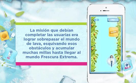 Misión frescura extrama juego Nosotras Online Pragma