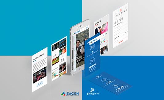 Nuevo sitio Isagen rediseño web