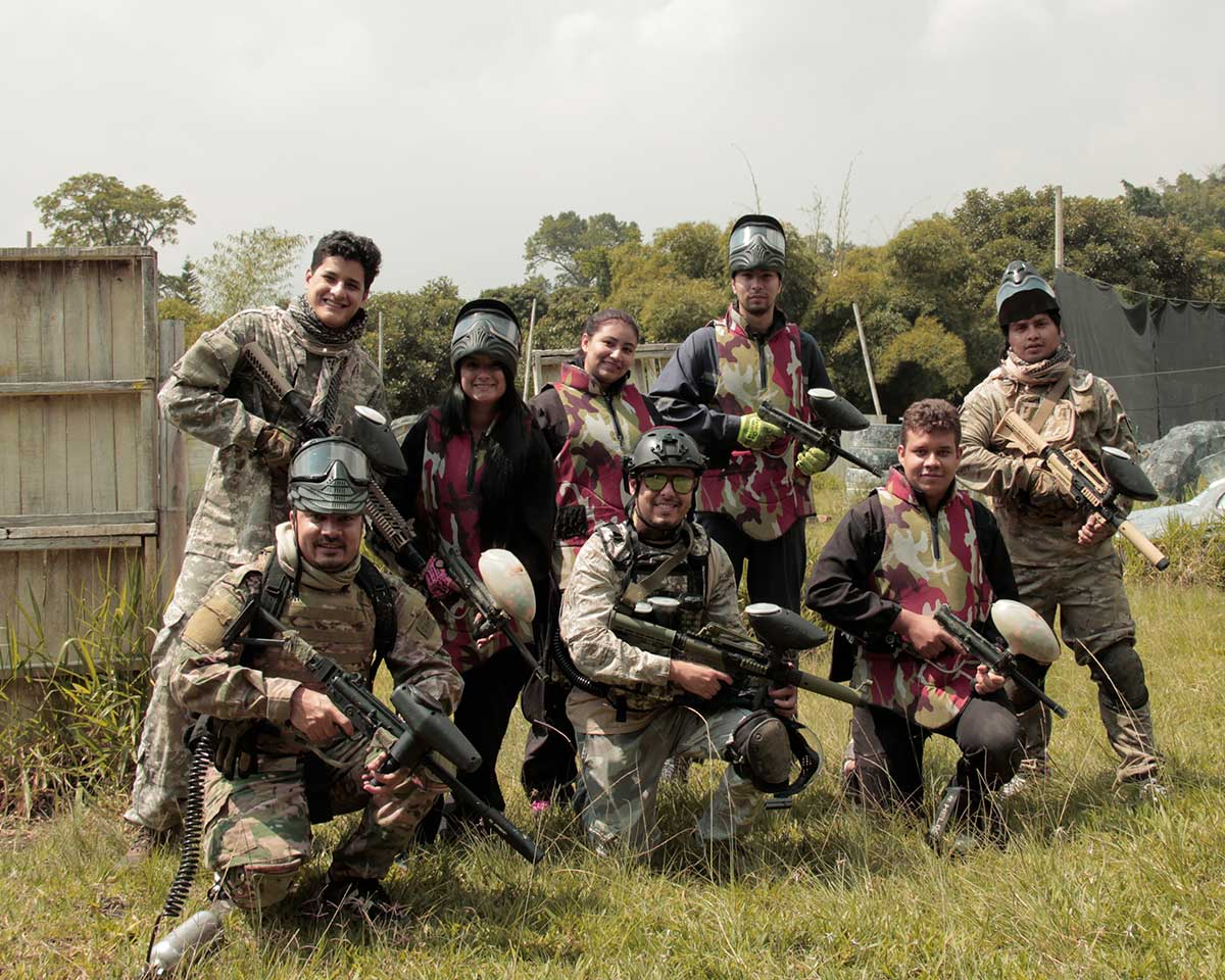 Salida trimestral paintball