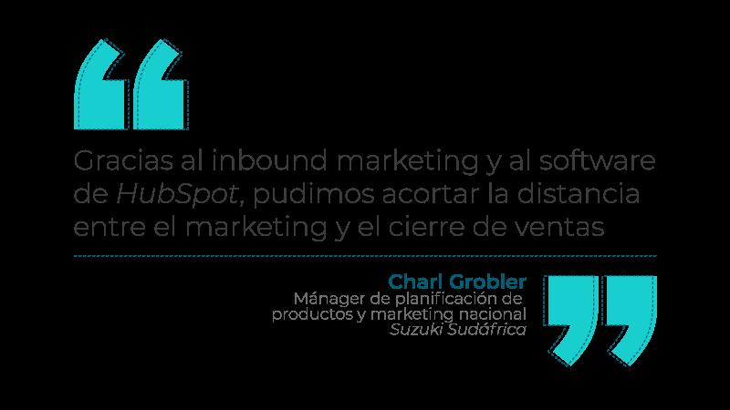Charl Grobler Inbound Marketing