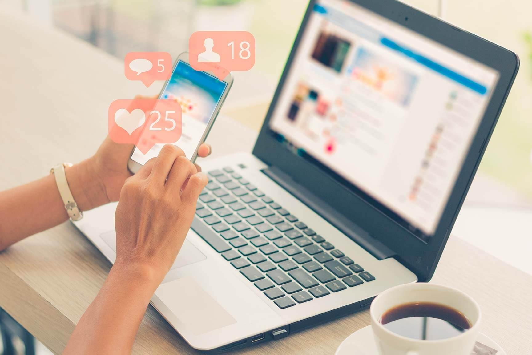Las redes sociales cambiaronnuestra forma de vivir