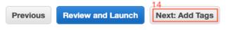 A continuación seleccionamos el botón Add Tags.