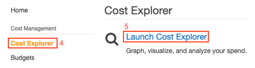 Launch Cost Explorer.