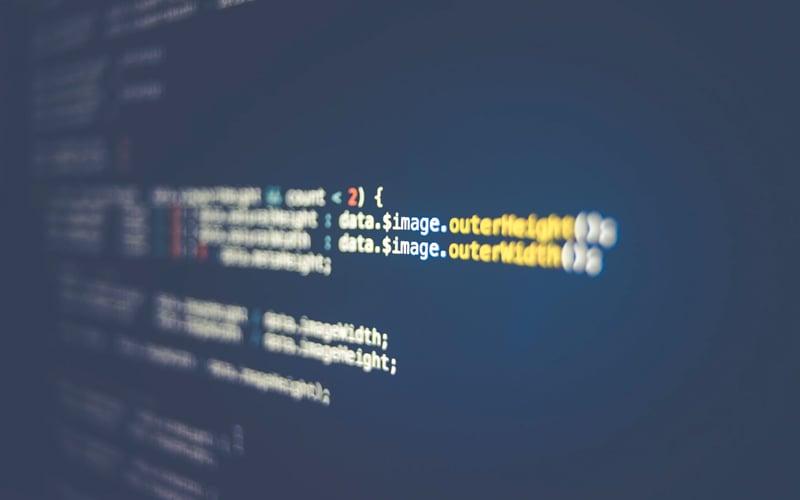 Código de datos web