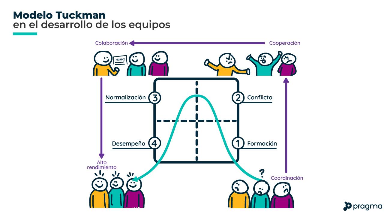 modelo de equipos de Tuckman