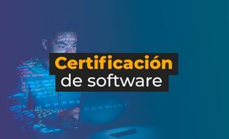 Certificación de software