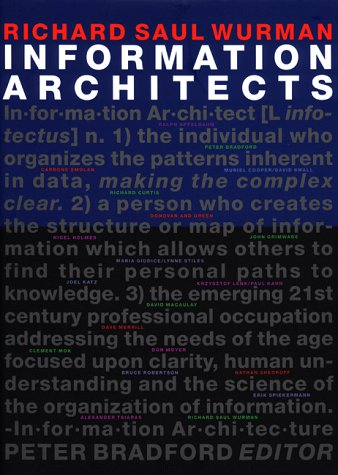 Portada information architects richard saul wurman