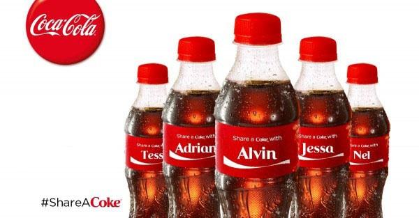 Cocacola nombres de personas prosumidor