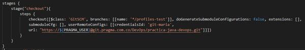 Construcción de una pipeline en Jenkins para un microservicio Java 13