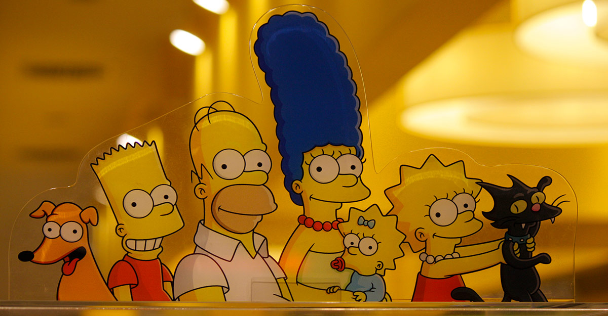 Simpson, caso transmedia