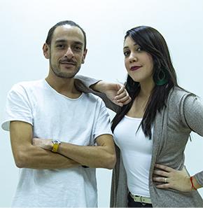 Mauricio López y Luz Adriana Correa