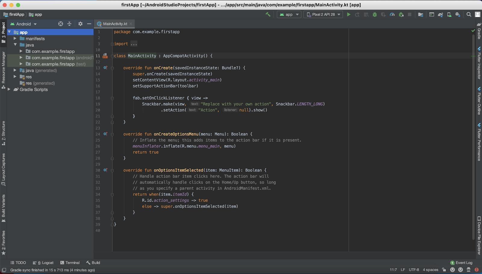 Cómo crear mi primera app Android en producción
