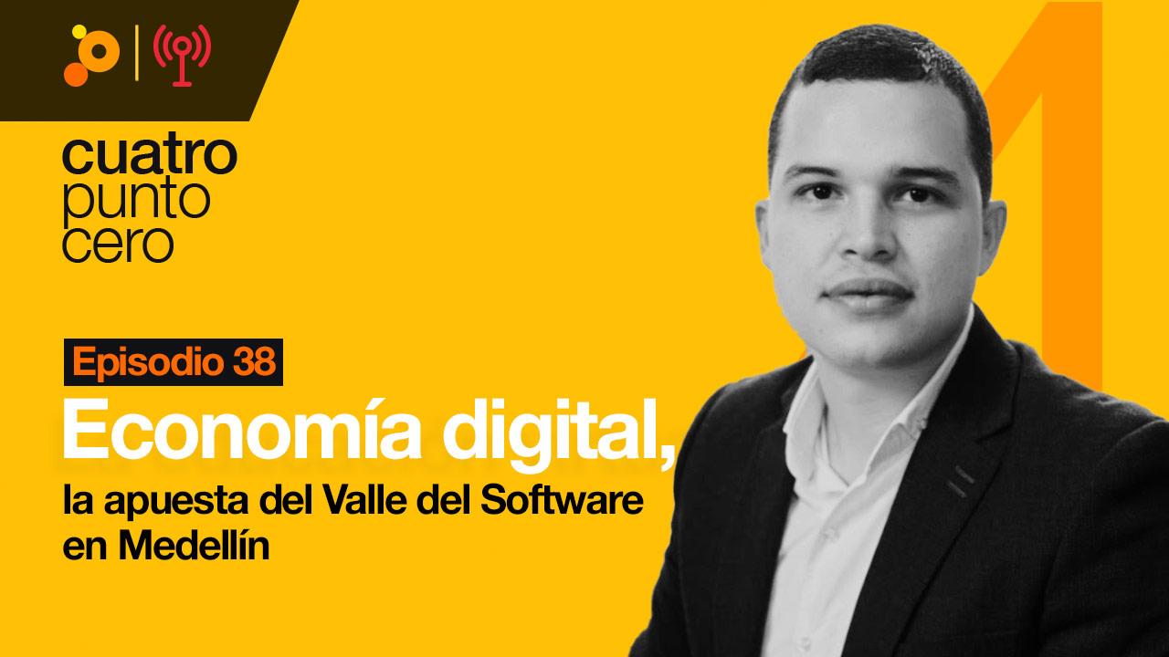 Economía digital, la apuesta del Valle del Software en Medellín